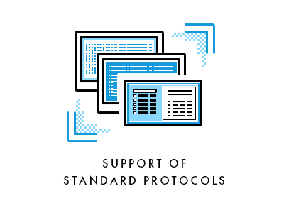 Support of standard protocols